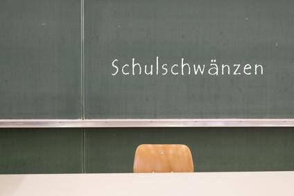 Schule schwänzen