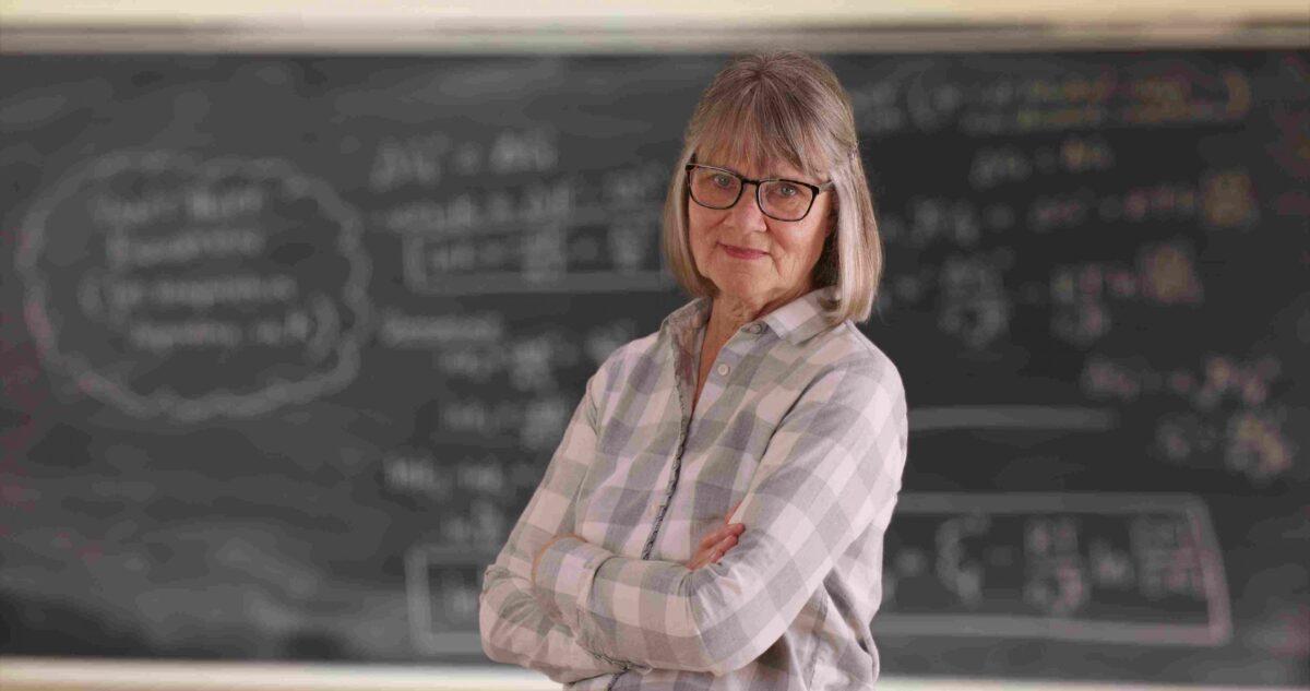 ältere Lehrerin