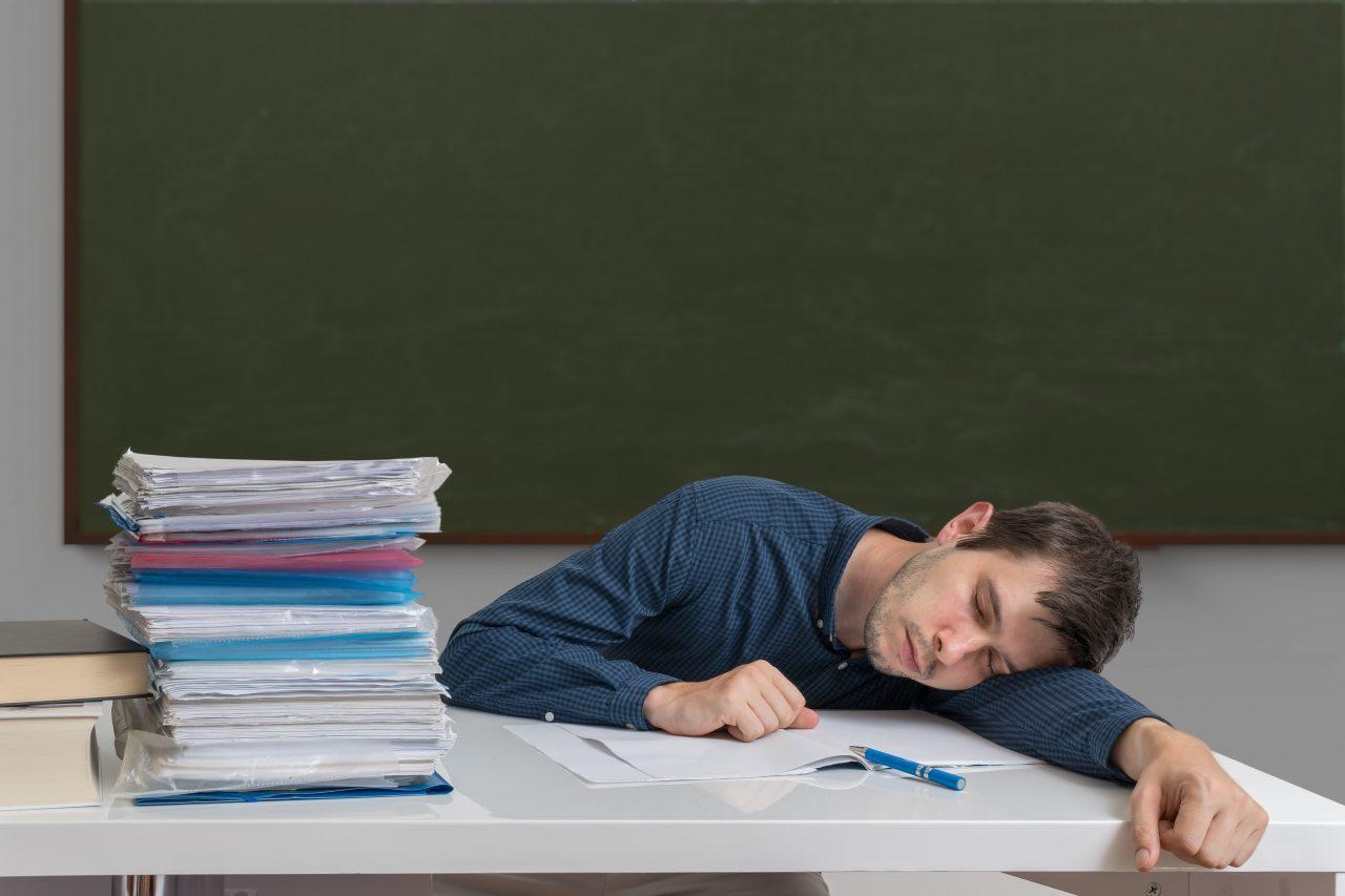 Lehrer belastet
