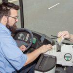 Busfahrer Ticket Kontrolle