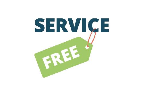 Kostenloser Service