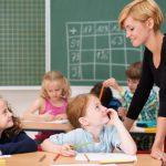 gesprch zwischen lehrerin und schlern