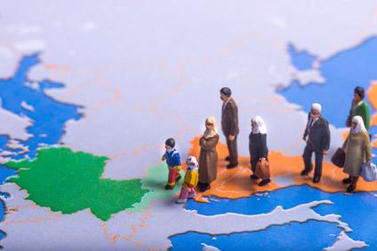Menschen auf der Flucht
