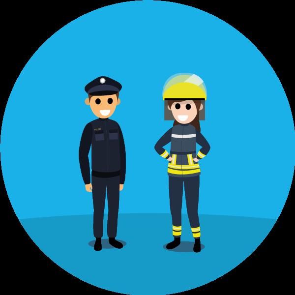 Polizei und Feuerwehr - Freie Heilfürsorge